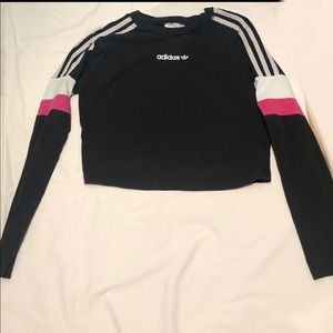 Adidas Black & Pink Longsleeve